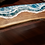 Thumbnail: Ocean Waves Bench | Wood and Resin Furniture