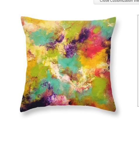"Throw Pillow-""Dream On"""