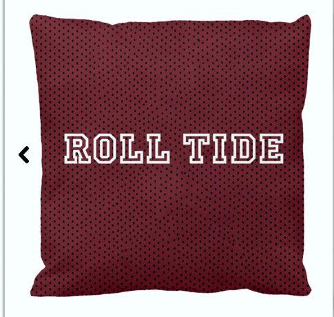 Team Pillow- Roll Tide