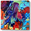 Colorful abstract resin art painting on stretched canvas_Easy_ by HalfBakedArt