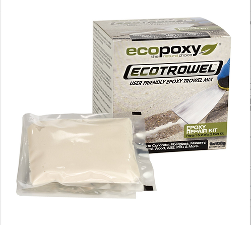 EcoTrowel single use repair kit 25 gram pillow pack from HalfBakedArt