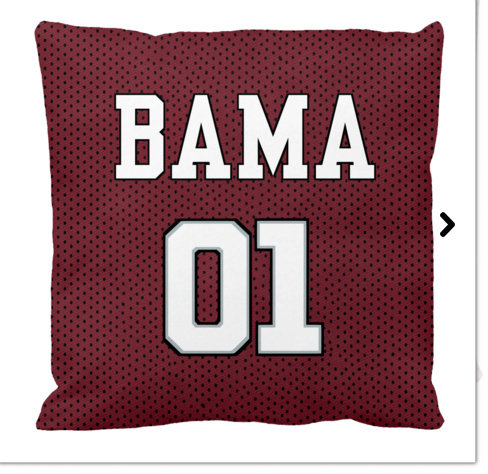 Team Pillow- Bama