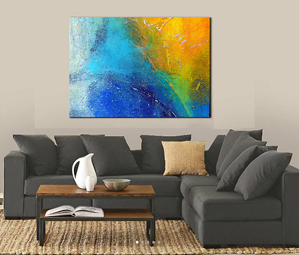 One of These Nights | Unstretched Canvas Print