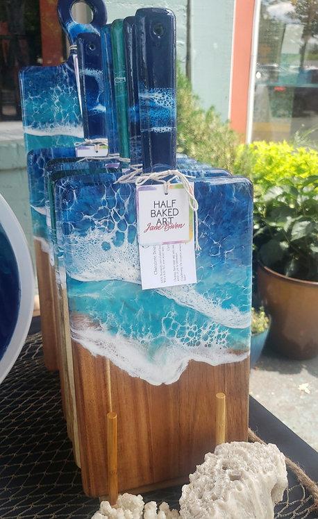 Ocean Waves Charcuterie Board