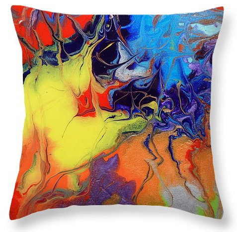 Throw Pillow- Even Flow