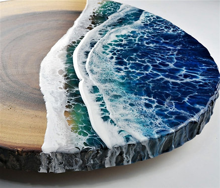 Large-ocean-wave-Charcuterie-platter-HalfBakedArt