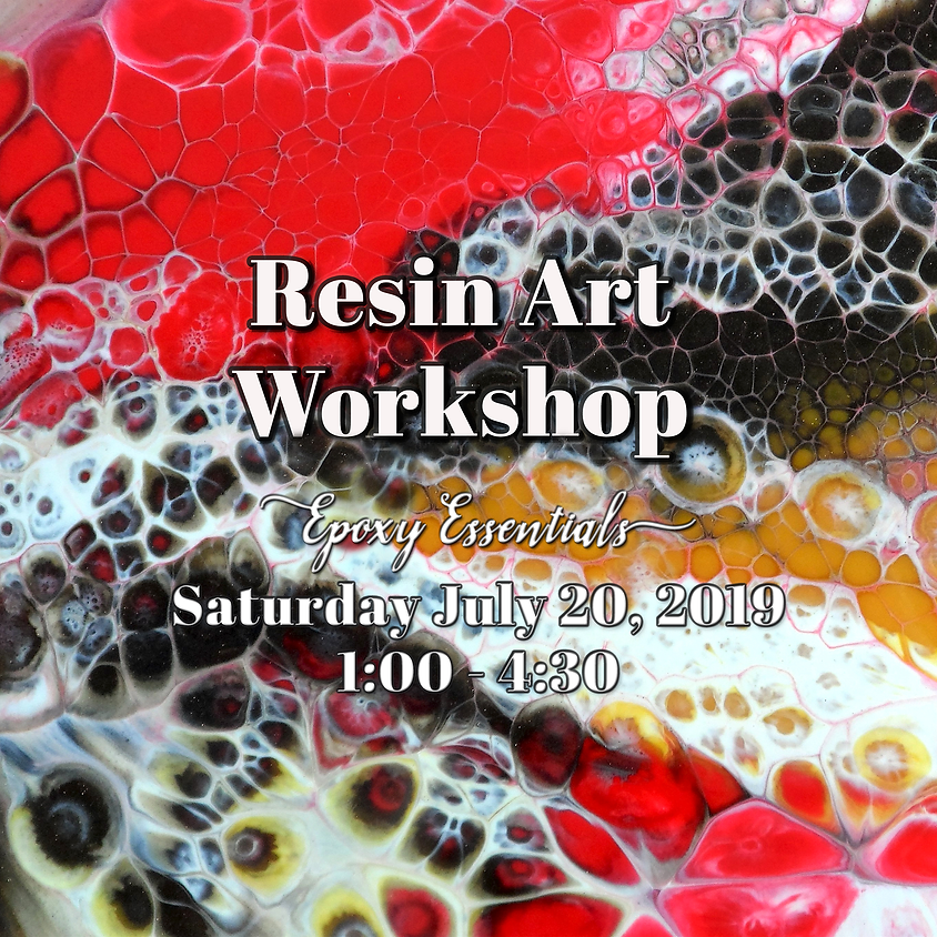 Resin Art Workshop - Resin Essentials