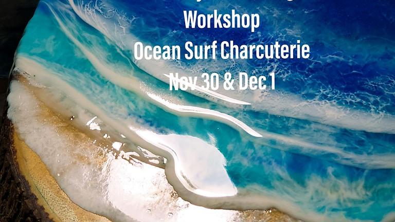 Ocean Surf Live Edge Charcuterie