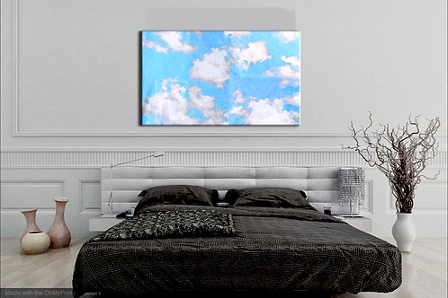 Clouds in My Coffee | Canvas Print