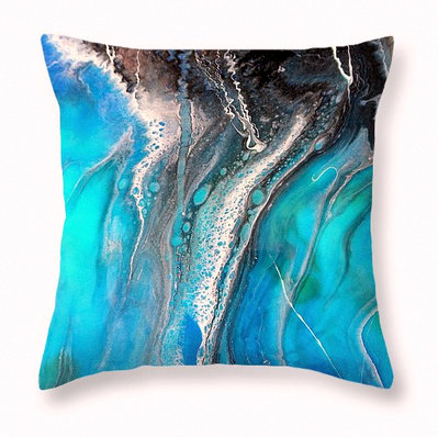 Throw Pillow Cover- Sea of Love