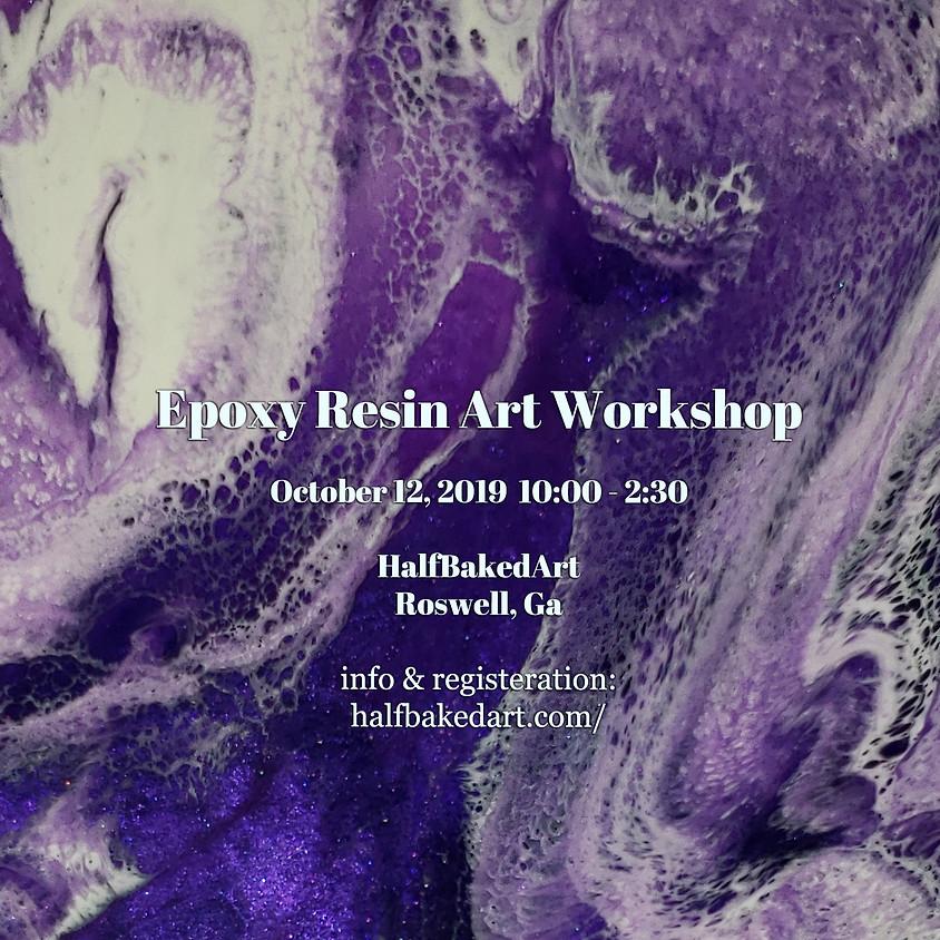 Epoxy Resin Art Workshop