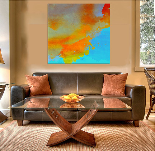 Splash Series  Canvas Print