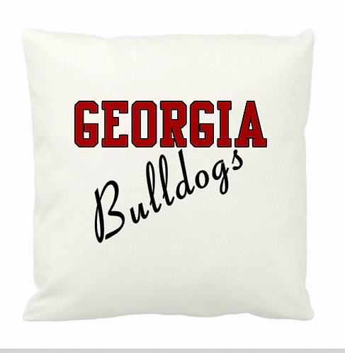 Team Pillow- Georgia