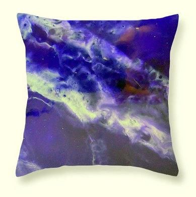 Throw Pillow- Deep Purple