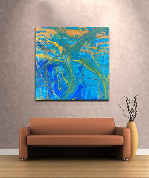 Celebrate | Acrylic Print | Resin Art Print