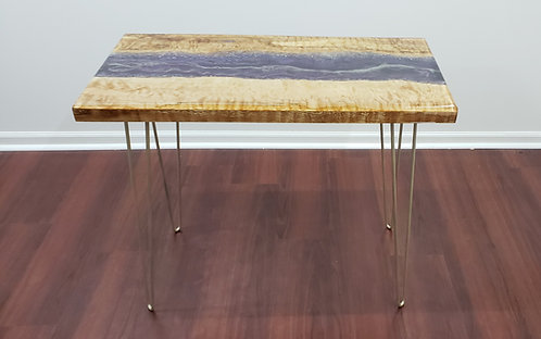Geode River Table | Wood and Resin Furniture