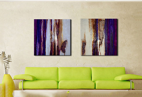 Gimme Shelter | Diptych Metal Prints