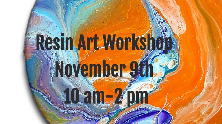 November Resin Art Workshop