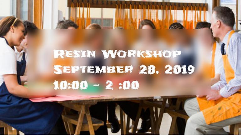 Resin Art Workshop- Beginner