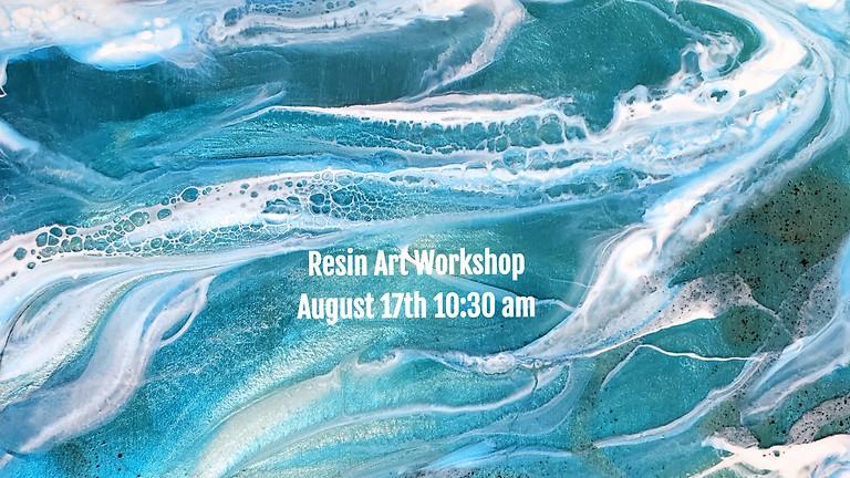 Resin Art Workshop - Epoxy Resin Essentials