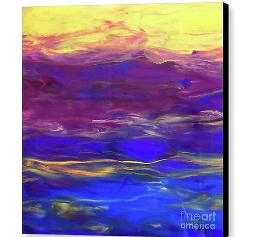 Blaze of Glory | Resin Art