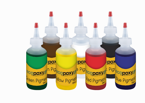 Ecopoxy epoxy resin pigment kit