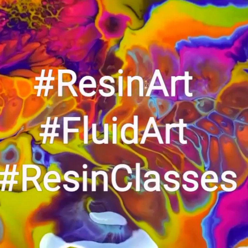 Resin Art Classes - Post COVID-19
