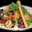 Salade de scampis aux agrumes