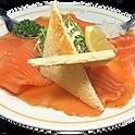 Le saumon fumé extra doux artisanal, tranché main & toast