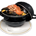 La casserole de moules jumbo 1kg ( Ommegang)