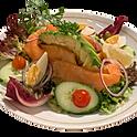 Salade folle de saumon fumé et avocat