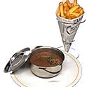 La véritable Carbonnade à la Flamande à la Tongerlo brune & frites