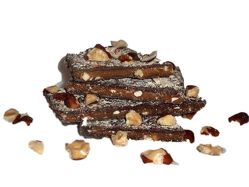 Cinnamon-Hazelnut Toffee