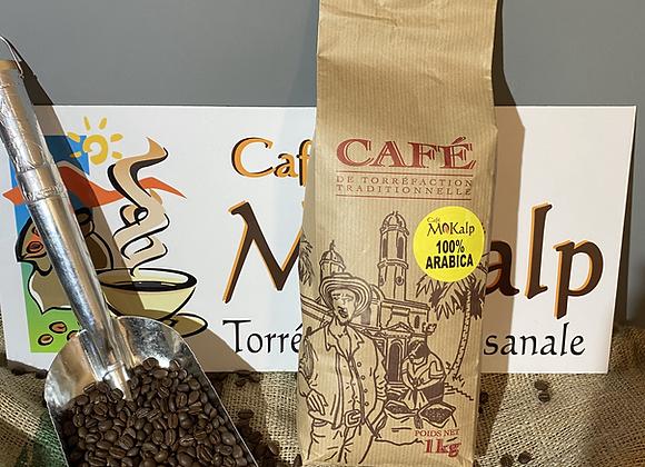 Café Blend 100% Arabica - En grains - 6/10
