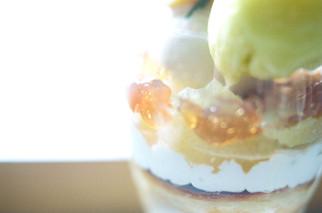 『アールグレイジュレ』 『土佐文旦』 『国産レモンサワークリーム』からの 『バスクチーズケーキ』の流れが特に好みでした。