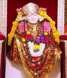 shirdi Sai Famus temple in india  _edite