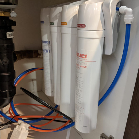 5 Stage reverse osmosis