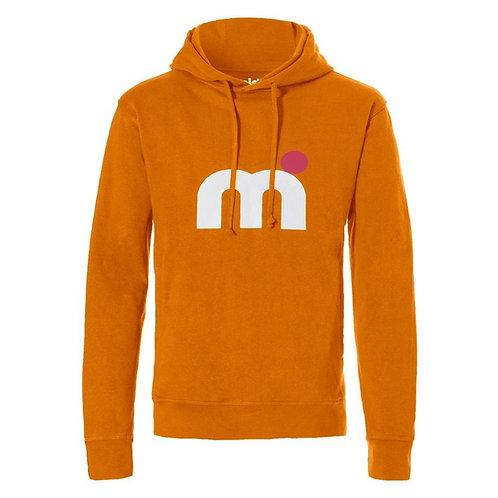 Mistral Mens Hooded Sweat Shirt Orange