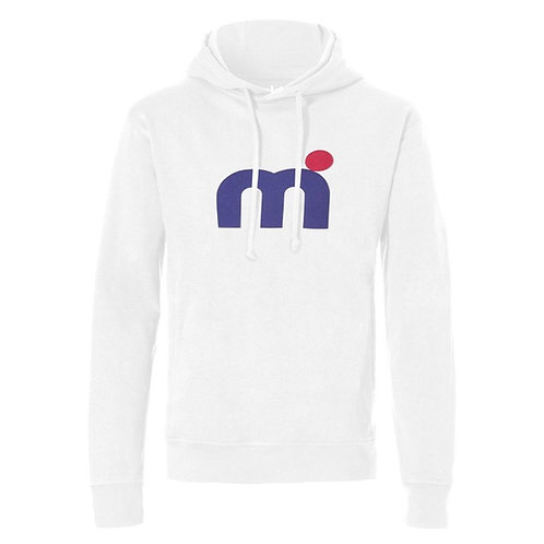 Mistral Mens Hooded Sweat Shirt White