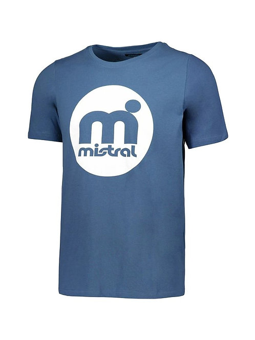 Mistral Retro Rounded Decal T Shirt Blue