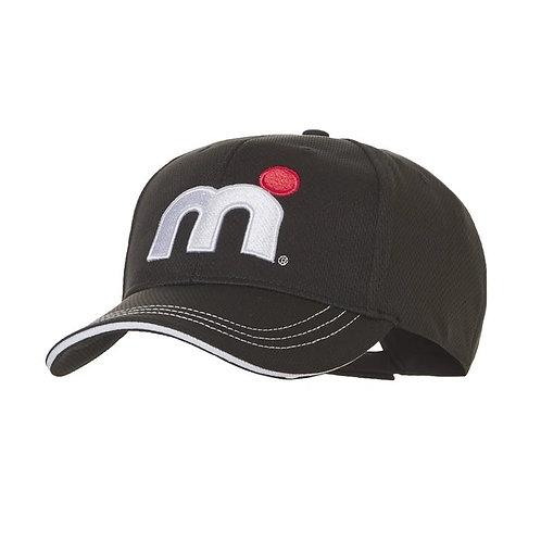 Mistral Cool Dry Peaked Cap Black