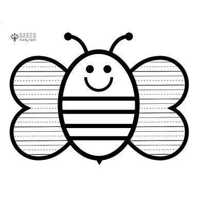 Bee Writing Page