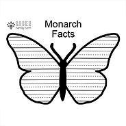 Monarch Writing Page