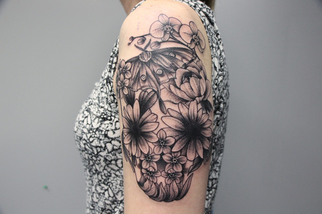 tattoo by Brittni Scampone