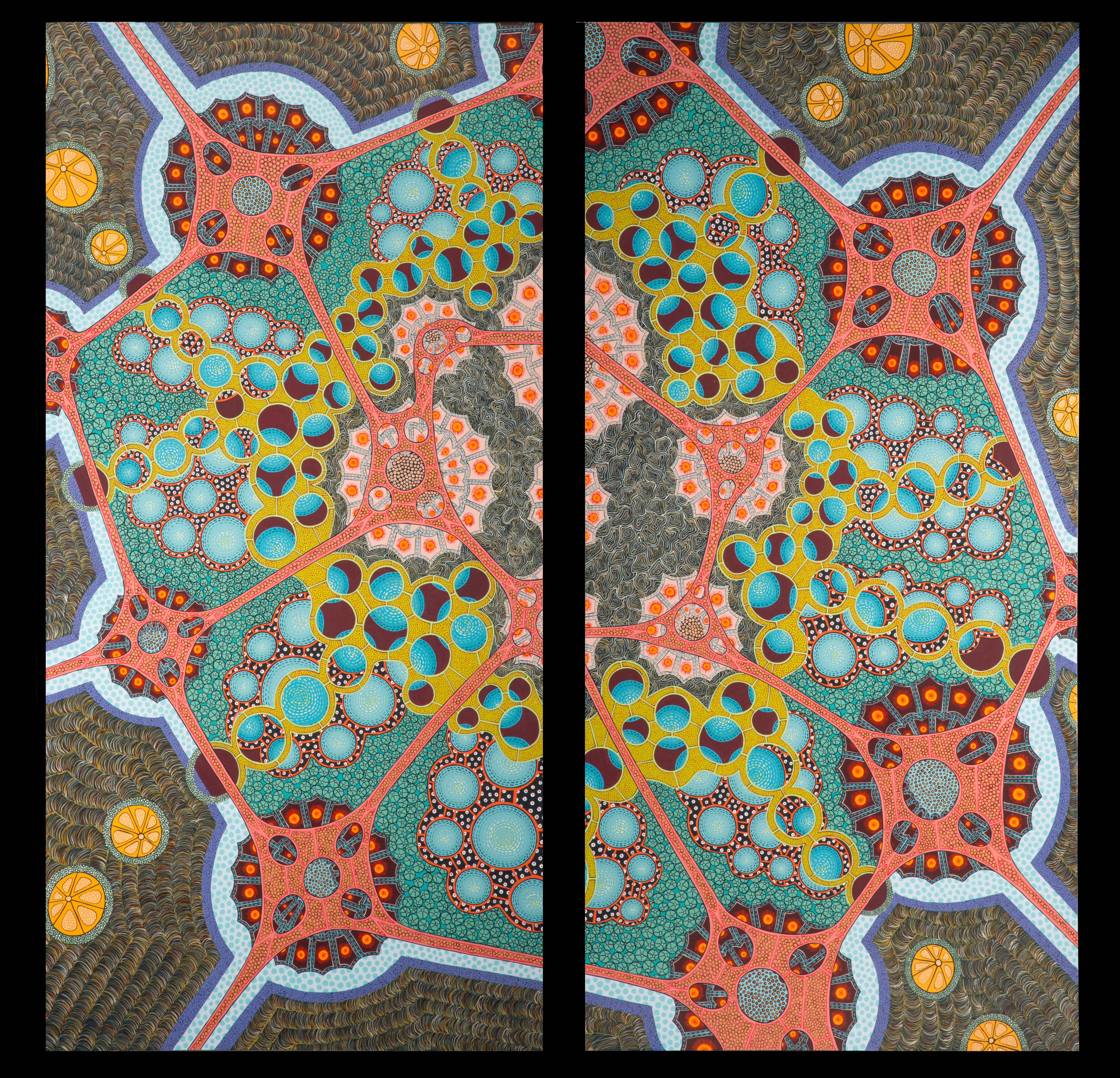 Pores. Orbs and Spores