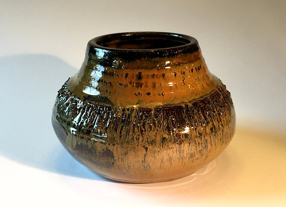 "Small Mulicolored Vase - 3"" x 5"""