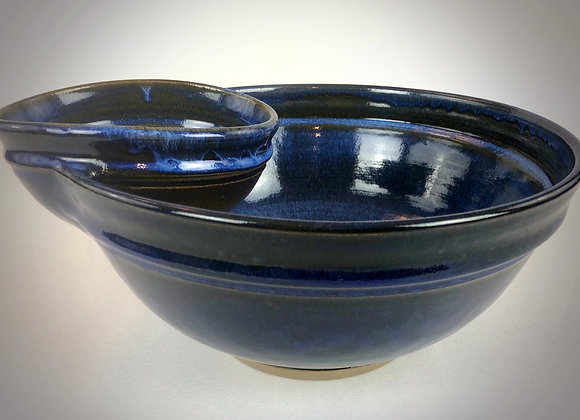 "Blue Chip & Dip Bowl - 12.5"" x 5.5"""