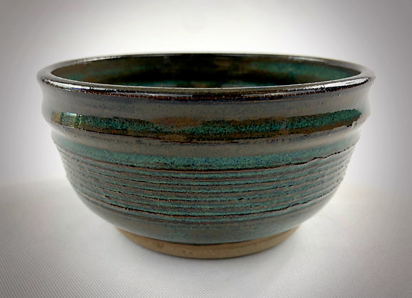 "Small Blue Green Bowl - 5.25"" x 2.75"""
