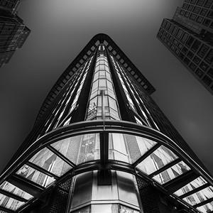 Corner & Glass Canopy