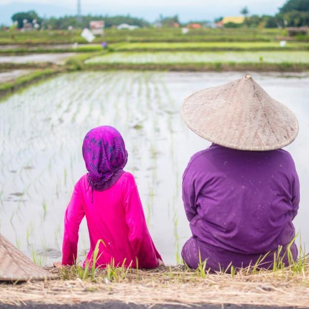 Mother & Daughter, Ubud, Bali, 2017